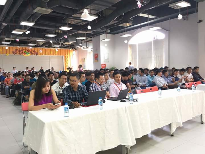 Tham gia hội thảo IoT