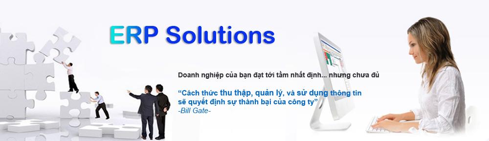 Giải pháp ERP hợp nhất